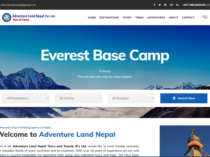 Adventure Land Nepal